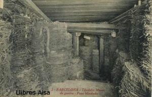 2 Barcelona Tibidabo Museo de guerra Paso blindado  18 €