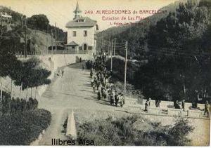 Postal 249 Alrededores de Barcelona Estación de Las Planas  18 €