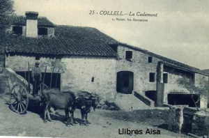 Collell nº 25 La Cademont (Girona)  15 €