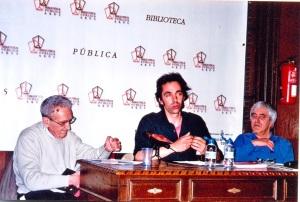 En la Biblioteca Arus presentan el llibre de Mutis , amb el dibuixant Pons Prades i Manel Aisa