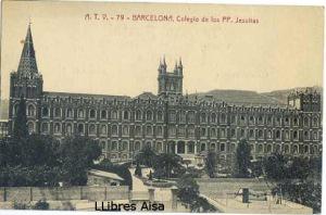Postal ATV nº 79 Barcelona Colegio de los PP Jesuitas Ed Angel Toldrà Viazo   19 €