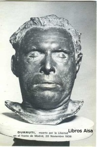 Durruti muerto por la libertad en el frente de Madrid, 20 noviembre 1936 ed. CNT-AIT  s/f (1977 o 78)  10 €