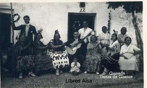 Granada Danza de Gitanos  Ed. s/f  (años 60?)  9 €