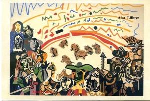 Equipo Crónica Ruedo Ibérico 1981 Óleo y collage / Lienzo 170 x 240 cm Galeria del Palau Valencia IVAM Centre Julio Gonzàlez. Valencia  6 €