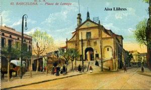 Barcelona Plaza de Lesseps  nº 43 RSA  Rovira SA s/d principios siglo XX color 18 €