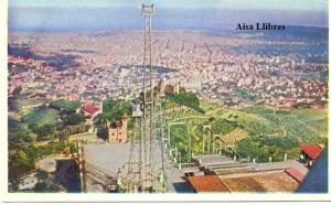 Barcelona Panorámica desde el Tibidabo  Serie C 109  Archivo de arte Barcelona  s/d (años 50?)  color con ventanilla 2 €