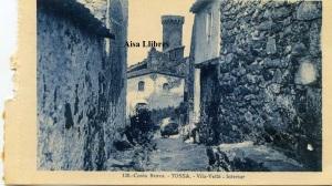 Tossa Villa Vella Interior Costa Brava 120 ed. L Roisin fot Barcelona principios siglo XX tiene un pequeño agujero 8 €