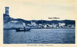 Tossa Costa Brava 107 Vista parcial. ed. L Roisin fot Barcelona principios siglo XX 15 €