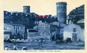Tossa Costa Brava Vila Vella Muralles. ed. L Roisin fot Barcelona principios siglo XX 20 €