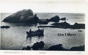 Port de la Selva 3  La Meda. ed. Llensa Guillera Barcelona amb ventanilla anys 20?  18 €