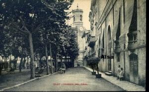 Olot Passeig del Firal  Ed Principis segle XX blanci negre 18 €