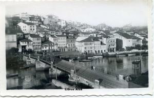 Betanzos  43 Río Mandeo y vista parcial de la ciudad. Ediciones Arribas Zaragoza   años 50 o 60?  Blanco y negro con ventanilla 11 €