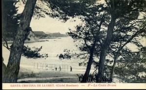 Santa Cristina de Lloret (Cliché Martínez)  F La Costa Brava , 22 €