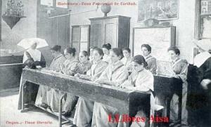 Barcelona Casa Provincial de Caridad Ciegos clase literaria Ed. Impr. Casa de  Caridad s/d principis segle XX 25 €