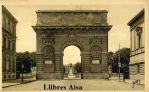 Montpelier nº 17 (Hérault) L'Arc de Triomphe ed. Les Éditions d'art Yvon París 15 Rue Martel Con ventanilla años 30? Color sepia 14 €