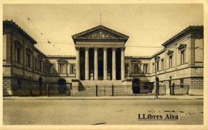 Montpelier nº 18 (Hérault) Le Palais de Justice (1866)  La Douce France Ed Les editions d'Art Yvon Paris Rue Martel. Con ventanilla años 30? Color sepia 14 €