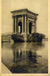 Montpelier nº 19 (Hérault) Le Château d'eau Ed Les editions d'Art Yvon Paris Rue Martel. Con ventanilla años 30? Color sepia 14 €