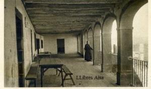 Castelló Santuari de Nuestra Sra de la Font de la Salut Galeria del Santuari nº 8 ed. s/d anys 20? Con ventanilla color sepia  10 €