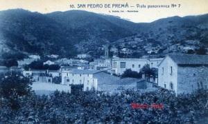 San Pedro de Premia nº 10 Vista panorámica nº 7 Roisin fot. Barcelona s/f (años 20?) 15 €