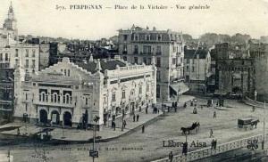 Perpignan Place de la Victoire Vue Générale . Edit Berdagué Mary Bernard.  s/d anys 10del segle XX 18 €
