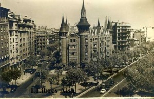 Barcelona  Les Punxes Diagonal  anys 50?  14 €
