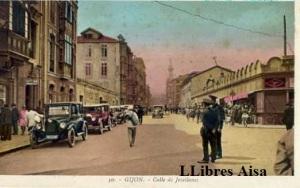 Gijón nº 50 Calle de Jovellanos  s/f Principios siglo XX  30 € color