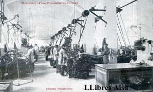 Barcelona Casa Provincial de Caridad Telares mecánicos  Principios siglo XX  25 €