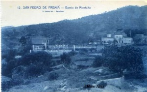 San Pedro de Premiá nº 12 Barrio de Montaña I Roisin fot. Barcelona s/f (años 20?)  15 €