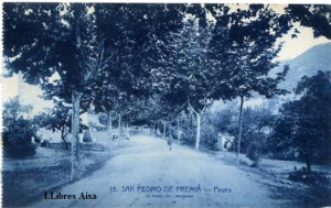 San Pedro de Premiá Paseo nº 15 Ed. L Roisin fot. Barcelona s/f (años 20) 15 €