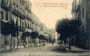 Manresa nº 31 Calle de Guimera . ed. Fototipia Thomas Barcelona s/f  principis segle XX  30 €