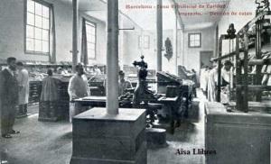 Barcelona Casa Provincial de Caridad  Imprenta Sección de Cajas Impr Casa de Caridad s/f (principios siglo XX) 18 €