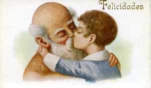 núm 913 Felicidades Abuelo : J Ibañez Ediciones Victoria N Coll Salieti Barcelona s/f (principios siglo XX) 12 €