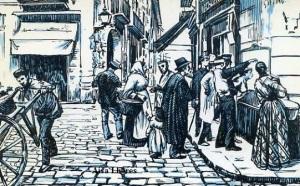 """Serie B núm 12 """"La confronta de billetes• cuadro de José Joaquín Tejada de 1893 Dirección General de Tributos especiales FNMT Madrid s/f (años 60)  6 €"""