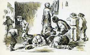 Serie B núm. 3 Exposición de los resultados de una extracción de la Lotería Primitiva Dibujo de Ortego, 1859 Dirección General de Tributos especiales FNMT Madrid s/f (años 60)  6 €