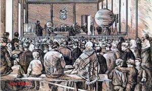 Serie B núm 5 Sorteo navideño de la lotería Grabado de 1873  Dirección General de Tributos especiales FNMT Madrid s/f (años 60)  6 €