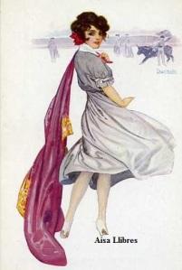 Núm 861 Tipo mujer torera Chantecler Ediciones Victoria N Coll Salieti Barcelona s/f (principios siglo XX) 12 €