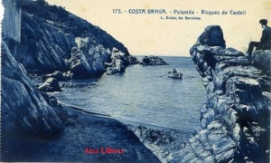 Costa Brava 175 Palamós Roques de Castell. Ed. L Roisin fot. Barcelona (años 30?) 12 €