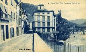 Camprodón nº 4 Carrer de  Sant Roch  Fototipia Thomas Barcelona nº 3618 s/f años 20 ?  20 €