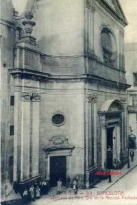 Barcelona 301 Santuario de Ntra. Sra. De la Merced Fachada ATV,  s/f principios siglo XX 12 €