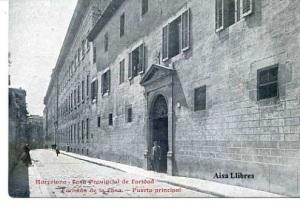 Barcelona Casa Provincial de Caridad Fachada de la Casa Puerta Principal. Ed. Imp. Cada de la Caridad. s/f (principios siglo XX)  20 €
