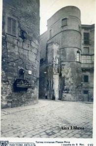 Barcelona Antiga  Torres romanas Plaza Nova i Capella de S Roc nº 119 Ricart 12 €