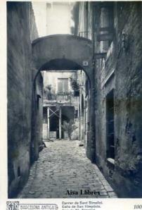 Barcelona Antiga Carrer de Sant Simplici  nº 100 Ricart 12 €