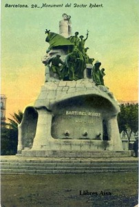 Barcelona nº 24 Monument del Doctor Robert. Ed. Jorge Venini Barcelona serie standard 25 €