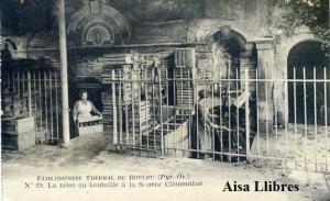 Boulou. Etablissement thermal du Boulou (Pyr. Or) 29 La Mise en Bouteille à la Scruce Clémentine principios siglo XX 20 €