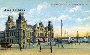 Barcelona nº 58 Barcelona Puerta de la Paz Ed. Rovira SA s/f principios siglo XX 25 €