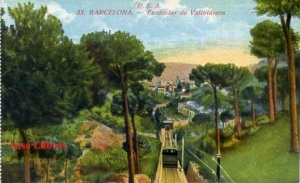 Barcelona nº 53 Funicular de Vallvidriera Ed Rovira SA principios siglo XX 25 €