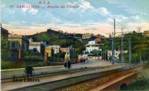 Barcelona nº 49 Avenida del Tibidado Ed. Rovira SA s/f principios siglo XX 25 €