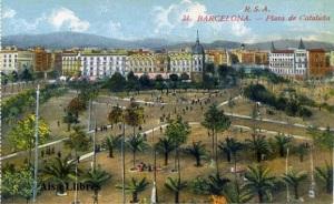 Barcelona nº 31 Plaza de Cataluña. Ed. Rovira SA s/f principios siglo XX 25 €