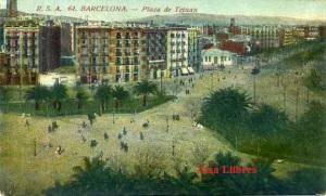 Barcelona  nº 64 Plaza de Tetuan  ed. Rovira SA s/f principios siglo XX 25 €