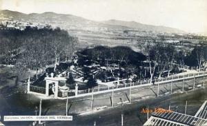 Barcelona año 1870 Jardín del General  ed. PA. 50 €